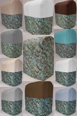 Brown & Teal Paisley Cover Compatible with Kitchenaid Stand