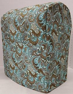 Penny's Needful Things Teal Brown Paisley Cover Compatible f