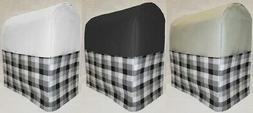 Canvas Black & Gray Buffalo Checked Cover Compatible w/ Kitc
