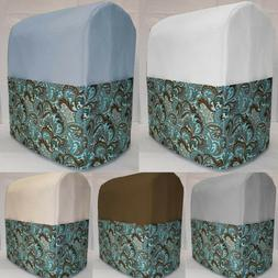 Canvas Brown & Teal Paisley Cover Compatbile with Kitchenaid