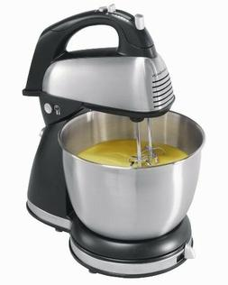 Classic Electric Hand/Stand Mixer 6 Speed Stainless Steel w/