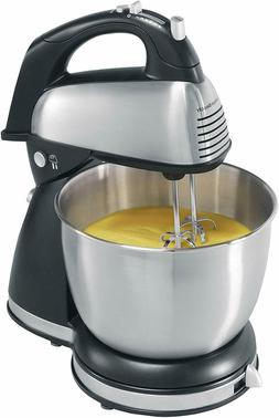 Classic Hand and Stand Mixer 4 Quarts 6 Speeds with QuickBur
