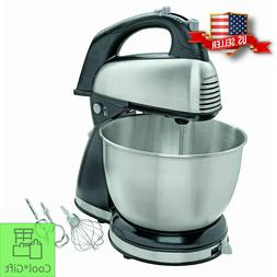 Classic Stand Mixer 6 Speed 4 qt Bowl Kitchen Cooking Dough