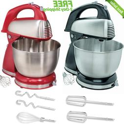 Classic Stand Mixer 6 Speed Kitchen Cooking Blending Mixing