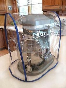 CLEAR MIXER COVER fits KitchenAid Bowl Lift - COBALT Trim  -