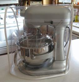 CLEAR MIXER COVER fits KitchenAid Bowl-Lift - SILVER trim -