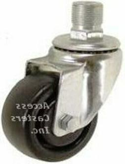 "CM36H03521 3"" Replacement Swivel Caster for Hobart Mixer Bow"