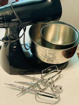 Oster Counter Top Mixer W/ Bowls & Attachments, EUC