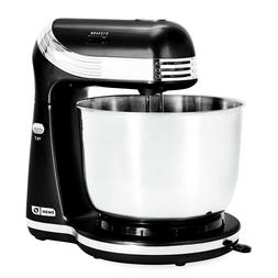 Dash Stand Mixer 6 Speed With 3 Qt Stainless Steel Mixing Bo