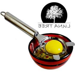 ⭐NEW design egg separator by⭐LUNA TREE. A long handle eg