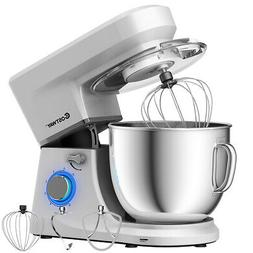 7.5 Quart 660W Tilt-Head Stand Mixer 6 Speed w/Dough Hook, W