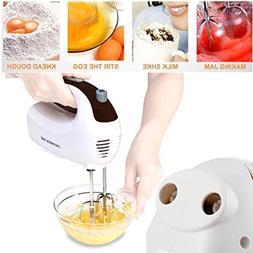 Iuhan Electric Hand Mixer 5 Speed Whisk Kitchen Utensils Foo