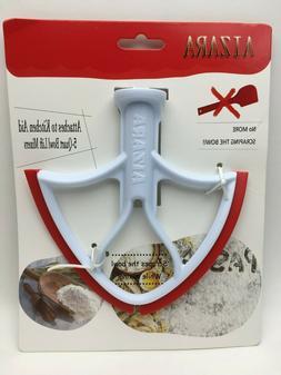 flat beater w spatula edge for kitchenaid