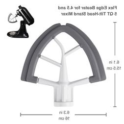 Flex Edge Beater for KitchenAid Tilt Head Stand Mixer Attach