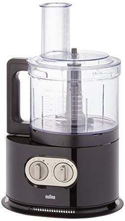 Braun FP5160BK Identity Collection Food Processor , 220V, Bl