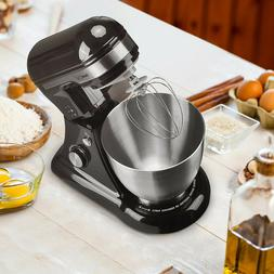 Geek Chef 4.5L Stand Mixer: 5 Quart Stainless Steel Bowl, 12