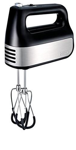 KRUPS GN4928 Quiet 10 Speed Hand Mixer with Turbo Boost Stai