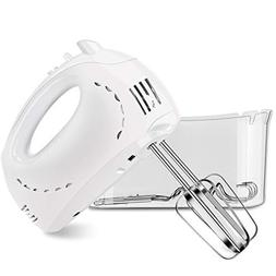 Hand Mixer, Cusinaid 5-Speed Electric Hand Mixer with Turbo