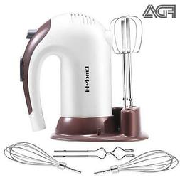 DmofwHi 5 Speed Hand Mixer Electric, 300W Ultra Power Kitche