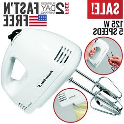 Hand Mixer Electric Hand Held Mixer Whisk Beater Blender Kic