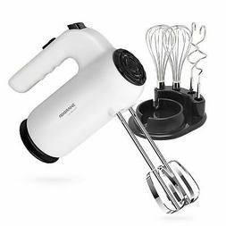 Hand Mixer Electric SHARDOR 300W Power and Slower Start Mixe