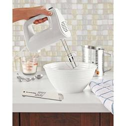5-speed Hand Mixer in White with Jenn-Air Adjustable Measuri
