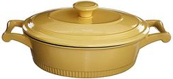 KitchenAid KCTI30CRMY Traditional Cast Iron Casserole Cookwa