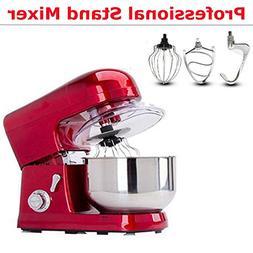 FidgetFidget Kitchen 6-Speed Counter Stand Mixer Bowl Baking