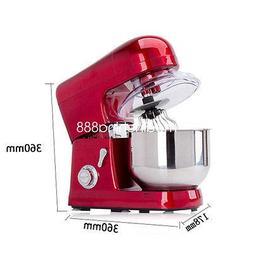 FidgetFidget Kitchen 6-Speed 5L Metallic Red Professional St