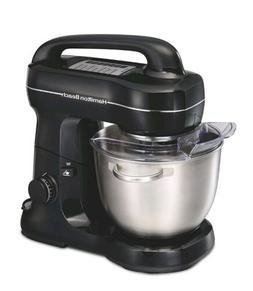 Kitchen Stand Mixer 4 Qt Bowl Whisk Dough Hook Flat Beater A