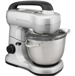 Hamilton Beach Kitchen Stand Mixer Stainless Steel Bowl 7 Sp