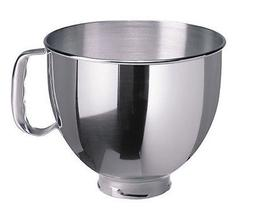 New K5THSBP KitchenAid Stainless Steel Bowl w/ Handle Fits 5