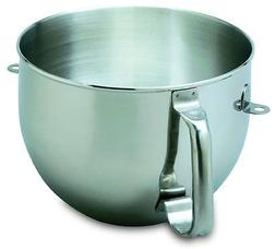 New KitchenAid Bowl for Stand Mixer 6-QT Stainless Steel KN2