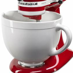 KitchenAid KSMCB5LW 5-Quart Ceramic Bowl 4.5 Tilt-Head/Artis