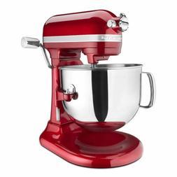 KitchenAid Pro Line 7 Qt Bowl-Lift Stand Mixer Red KSM7586P