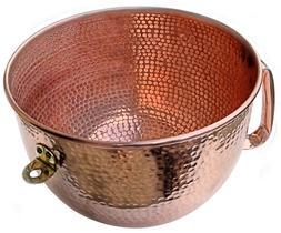 KitchenAid Solid Copper Mixing Bowl  6 QT Hand hammered Fit