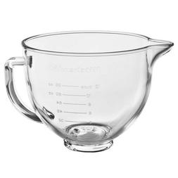 KitchenAid KSM5GB 5qt.Tilt-Head Mixer Glass Bowl with Measur