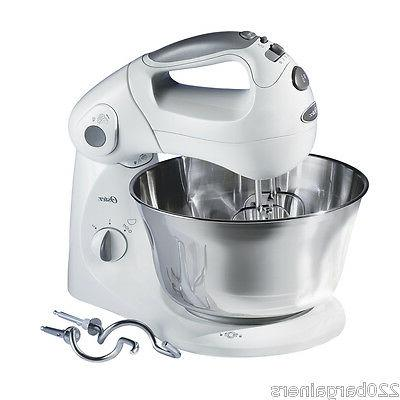 Oster 2601 220 Volt Stand Mixer with St Steel Bowl 220v 240v