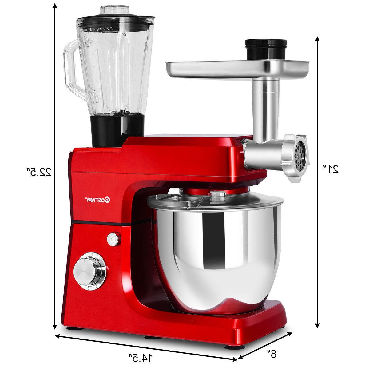 3 Stand Mixer Stainless Steel