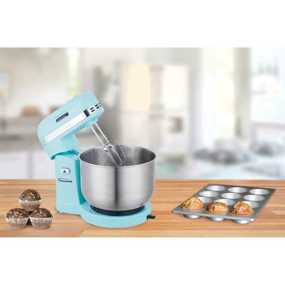 3 Qt. 5-Speed with Stainless Steel Bowl Safe