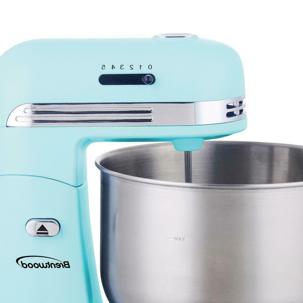 3 Blue with Stainless Steel Bowl Dishwasher Safe