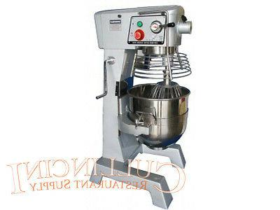 30 qt mixer stainless steel bowl commerical