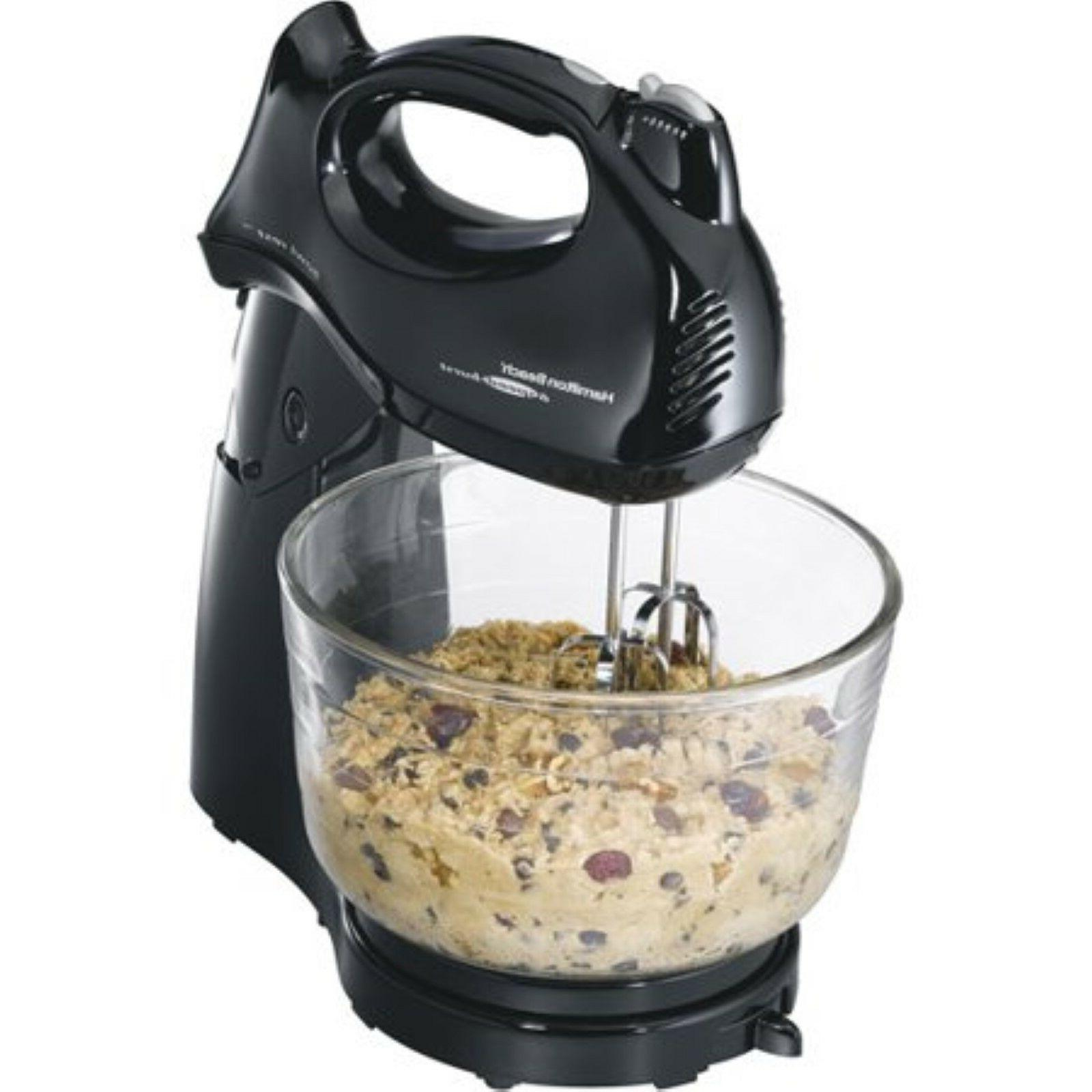 4 Qt Stand Mixer 6 Speed Power Deluxe Home Cook Kitchen Cook