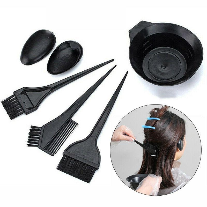 5 pcs hair coloring dyeing tool salon