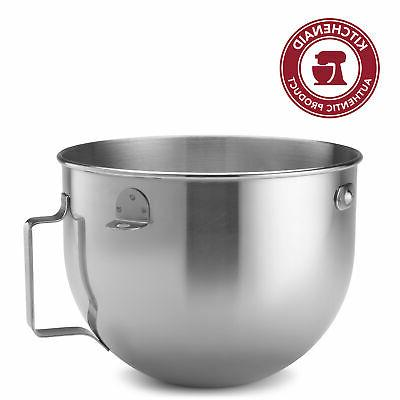5 qt bowl lift polished stainless steel