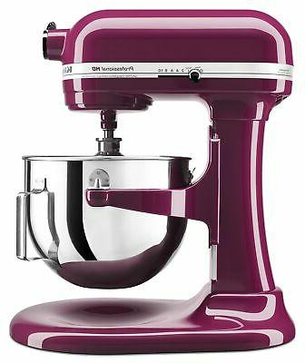 KitchenAid 5-Quart Professional Heavy Duty Bowl-Lift Stand Mixers |