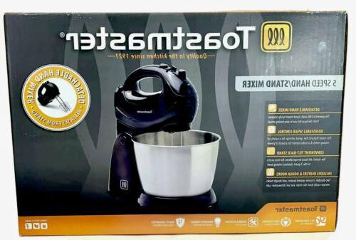 Toastmaster MIXER w/Stainless Bowl, Dough +