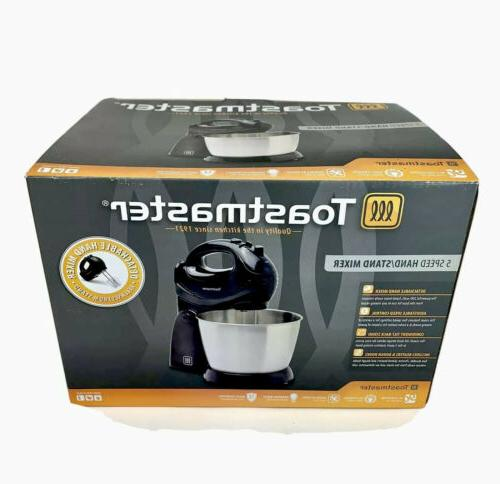 Toastmaster HAND/STAND MIXER 200W Bowl,