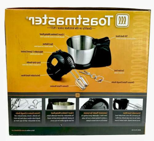 Toastmaster 5 MIXER 200W Bowl,