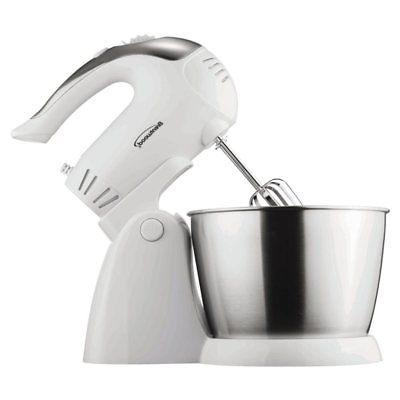 5 speed stand mixer with bowl white